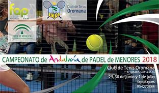 Campeonato padel andalucia