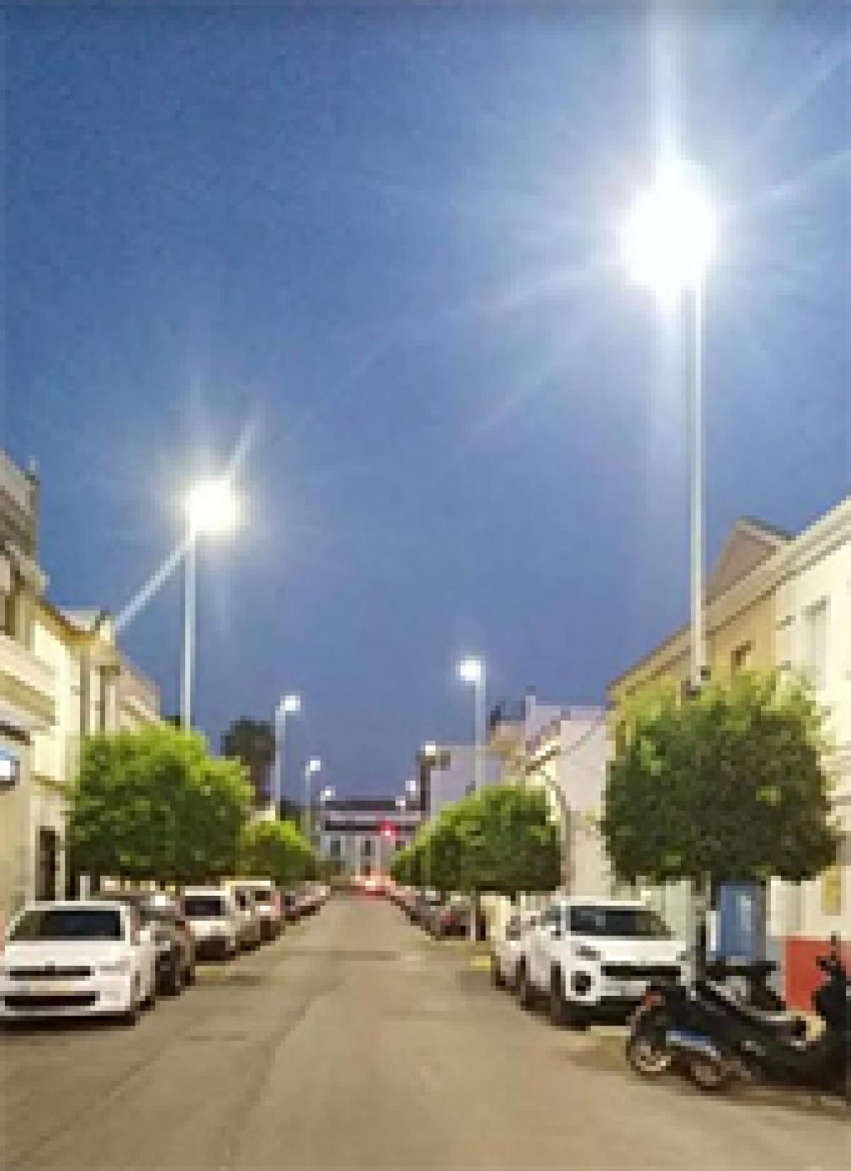 Iluminaciu00f3n avenida gines