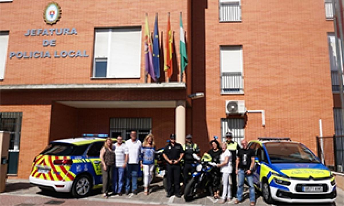Flota policia castilleja