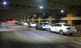 Taxi huelga sevilla