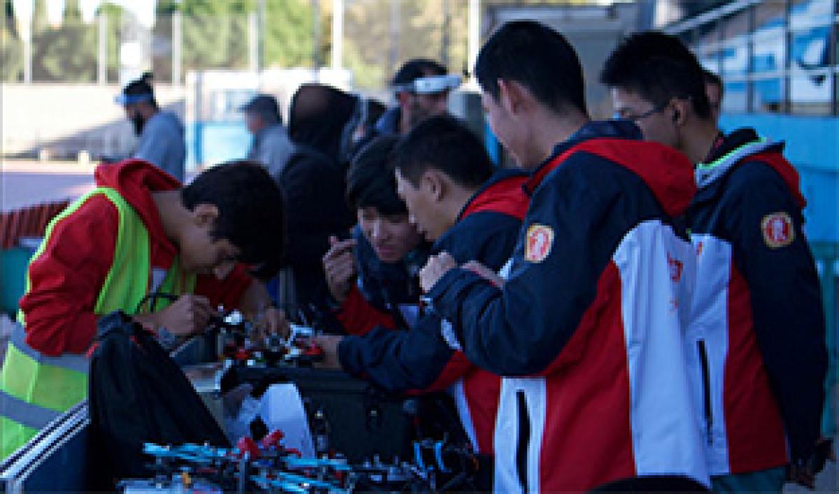 Campeonato dron rinconada