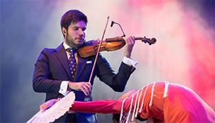 Violin flamenco