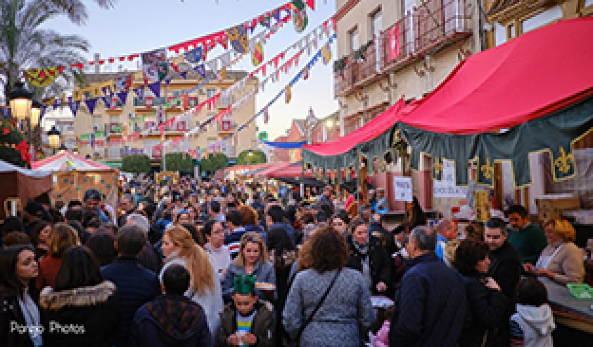 Mercado Medieval y Navideu00f1o Gine
