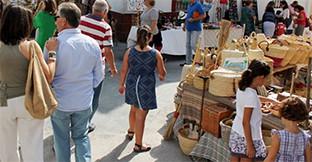 Mercado artesania tomares