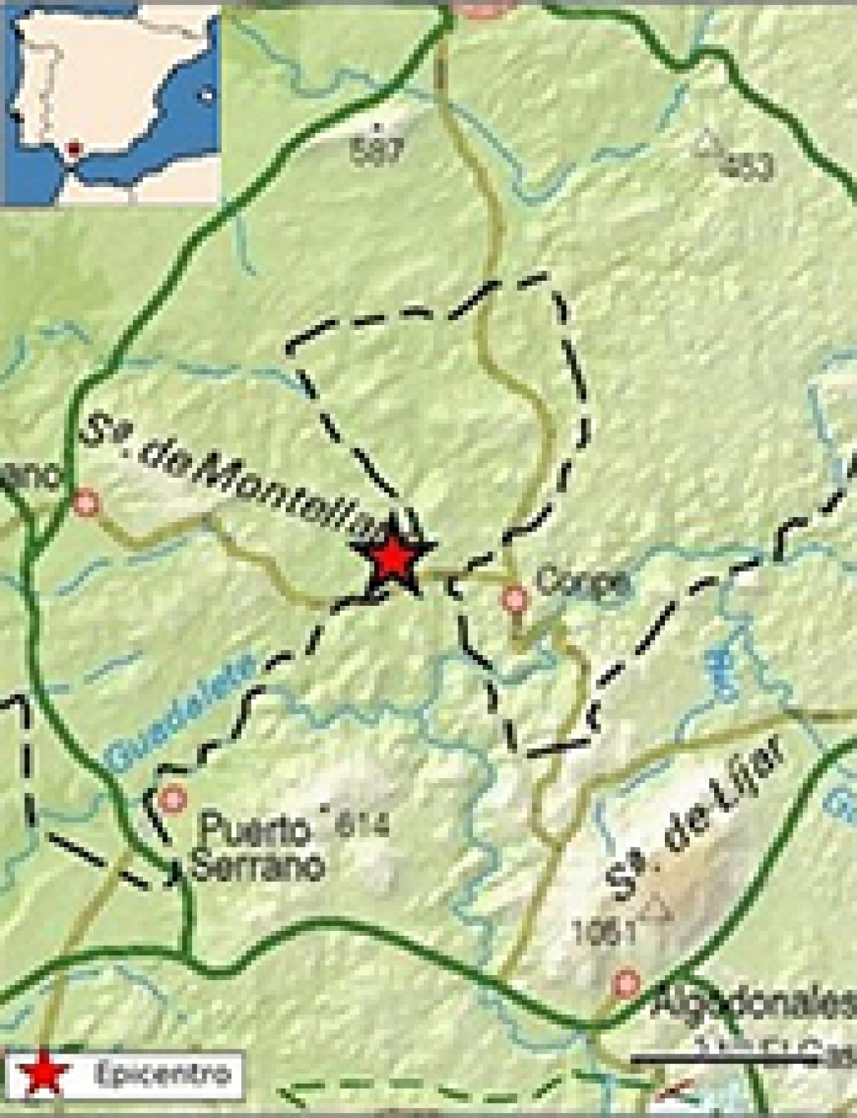 Terremoto coripe