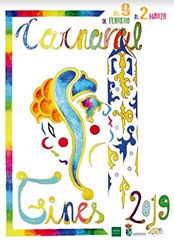 Cartel carnaval gines 2019
